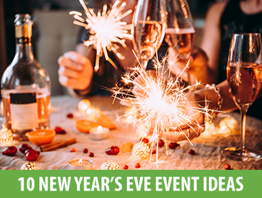 """All the decades have been done. Gatsby-mania is gone. Pirates are passé. You're fresh out of interesting ideas for your New Year's Eve party theme.  Fear not. To make sure your party is all anyone talks about in 2019, we've put together a list of 10 creative and on-trend theme ideas for your 2018 New Year's Eve event.    1. Diet Starts Tomorrow   We all know the drill: In January, we diet. But it's December 31st, so tonight let's go down in a blaze of glory. This theme lets guests indulge in all the good stuff in a fun blowout before their New Year's resolutions start. Think decadent cocktails, doughnuts walls, and fried food galore.    2. Time Travellers' Ball   This theme is the ultimate fancy dress party. Instead of limiting costumes to a single decade, your """"time travelling"""" guests can take inspiration from a person or style from any year, past or present. Dinosaurs, ancient Egypt, famous historical figures and pop icons — the possibilities are endless.    3. Candy Crush   In 2018, the world had an obsession with all things sweet and colourful. Immersive exhibitions like  Sugar Republic  and  Museum of Ice-Cream  were insanely popular and everyone wanted to fill their  Instagram feeds  with pops of candy colour. Tap this trend for your NYE party by theming it with all things bright and colourful — and a dessert table filled with sweet treats.    4. Heroes & Villains   An oldie but a goodie. With the non-stop release of superhero movies in 2018, comic books are on trend and provide great costume choices for themed New Year's parties.    5. Bubbles & Bowties   For a modern take on a sophisticated black-tie soiree, try """"Bubbles & Bowties"""". Guests are encouraged to dress in formal wear for a champagne-filled event. Mix it up with trendy varietals like Prosecco and natural sparkling wine, Pétillant-naturel.    6. The Best of 2018   Celebrate the close of 2018 with everything that got people talking throughout the year. From the royal wedding to Beyonce and Jay-Z's pa"""