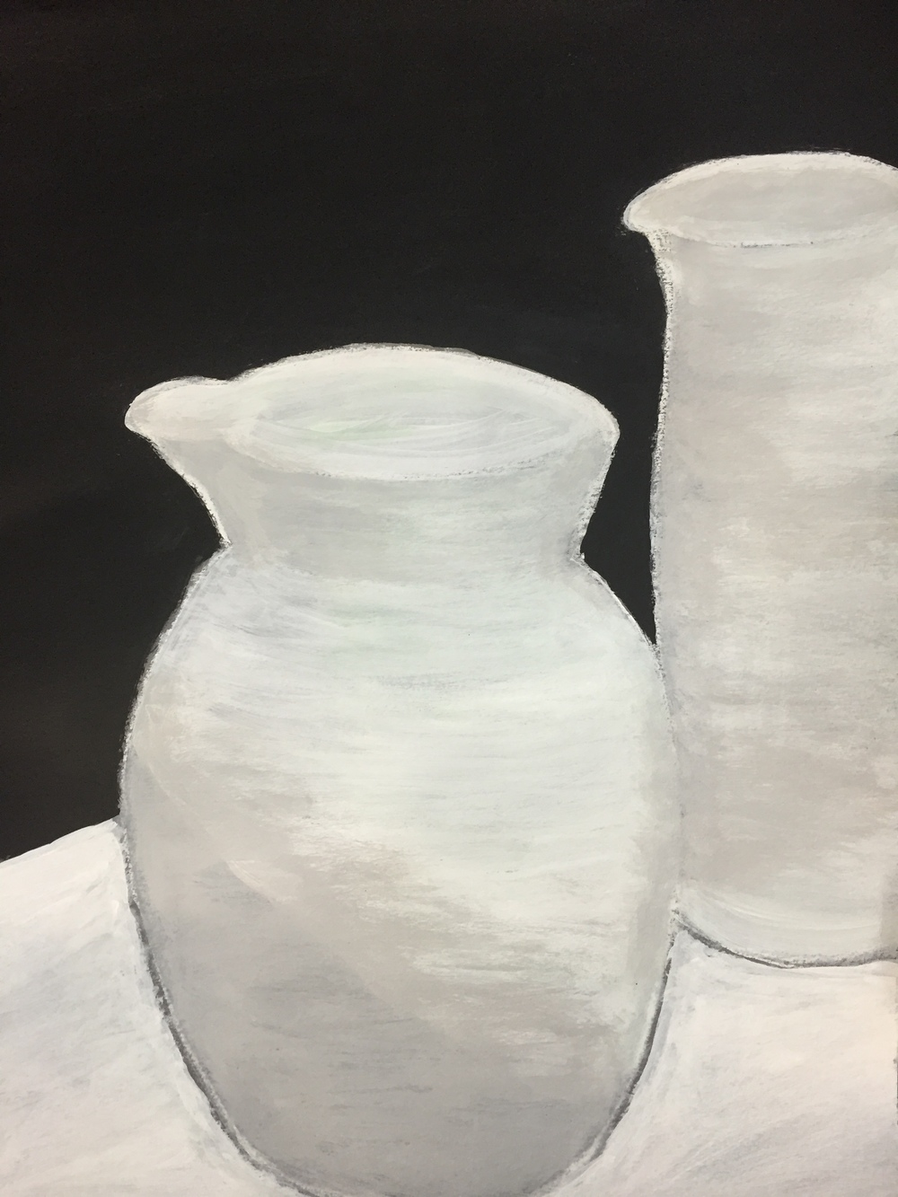 """Porcelain""  Acrylic 24x18"