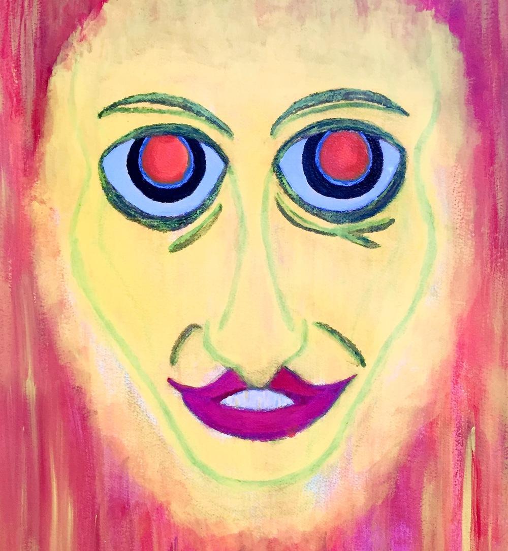 """""""Baby Jane"""" Acrylic 24x18"""