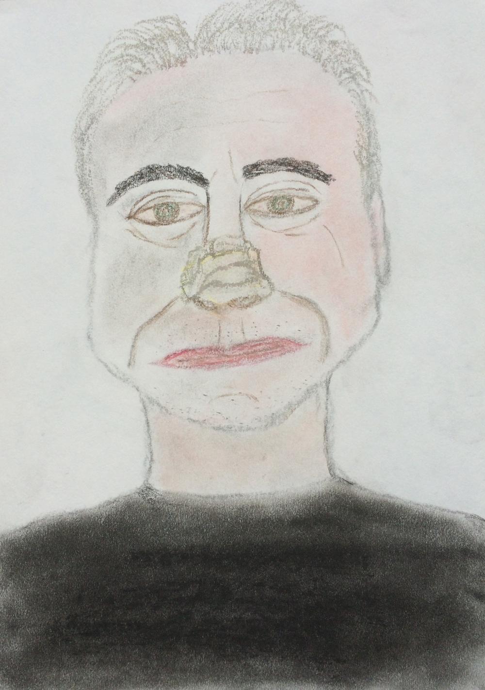 """Me15"" Pastel & Pencil 12x9"