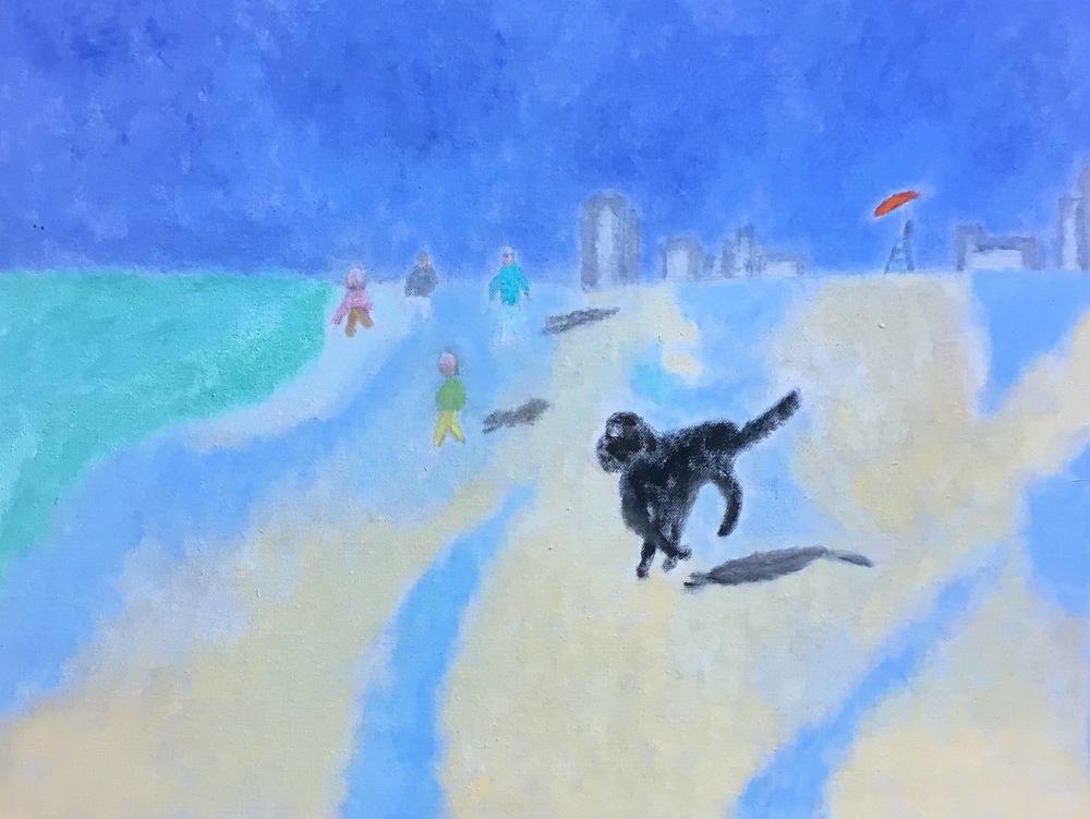 """Atlantic City"" Oil On Canvas 18x24"