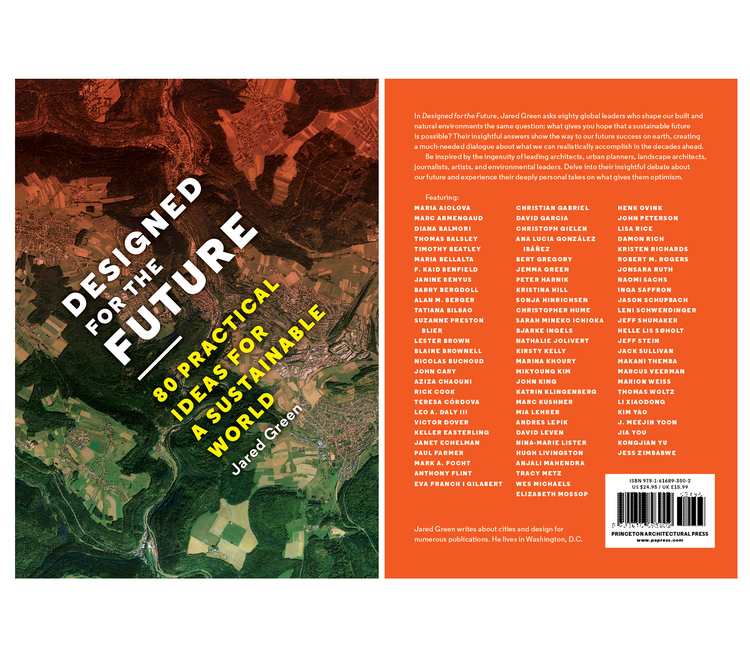 "I was interviewed by the landscape designer Jared Green for his book ""Designed for the Future; 80 Practical Ideas for a Sustainable World"". In my interview, I highlight the efforts of architectural preservation of Gingerbread Houses as inspiration for future architects in Haiti. Other professionals interviewed in this book include idols such as architect Bjarke Ingels and curator Andres Lepik. Publisher: Princeton Architectural Press"
