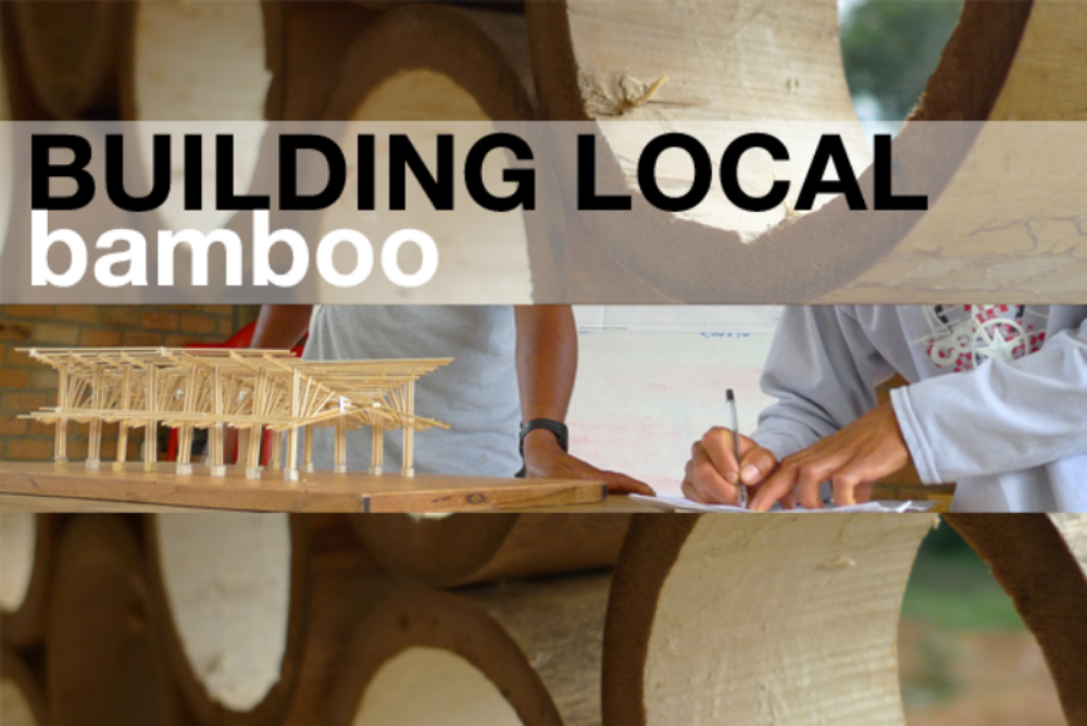 Workshop information here: BUILDING LOCAL