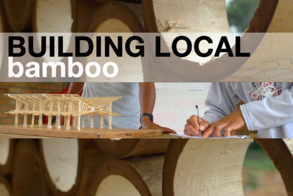 Workshop information here: BUILDING LOCAL
