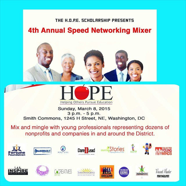 Support @hopescholarship and dozens of other non-profits and businesses during their networking mixer.