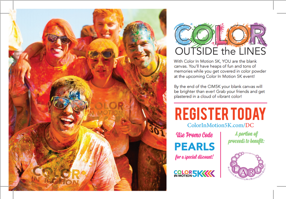Color In Motion 5k + PEARLS