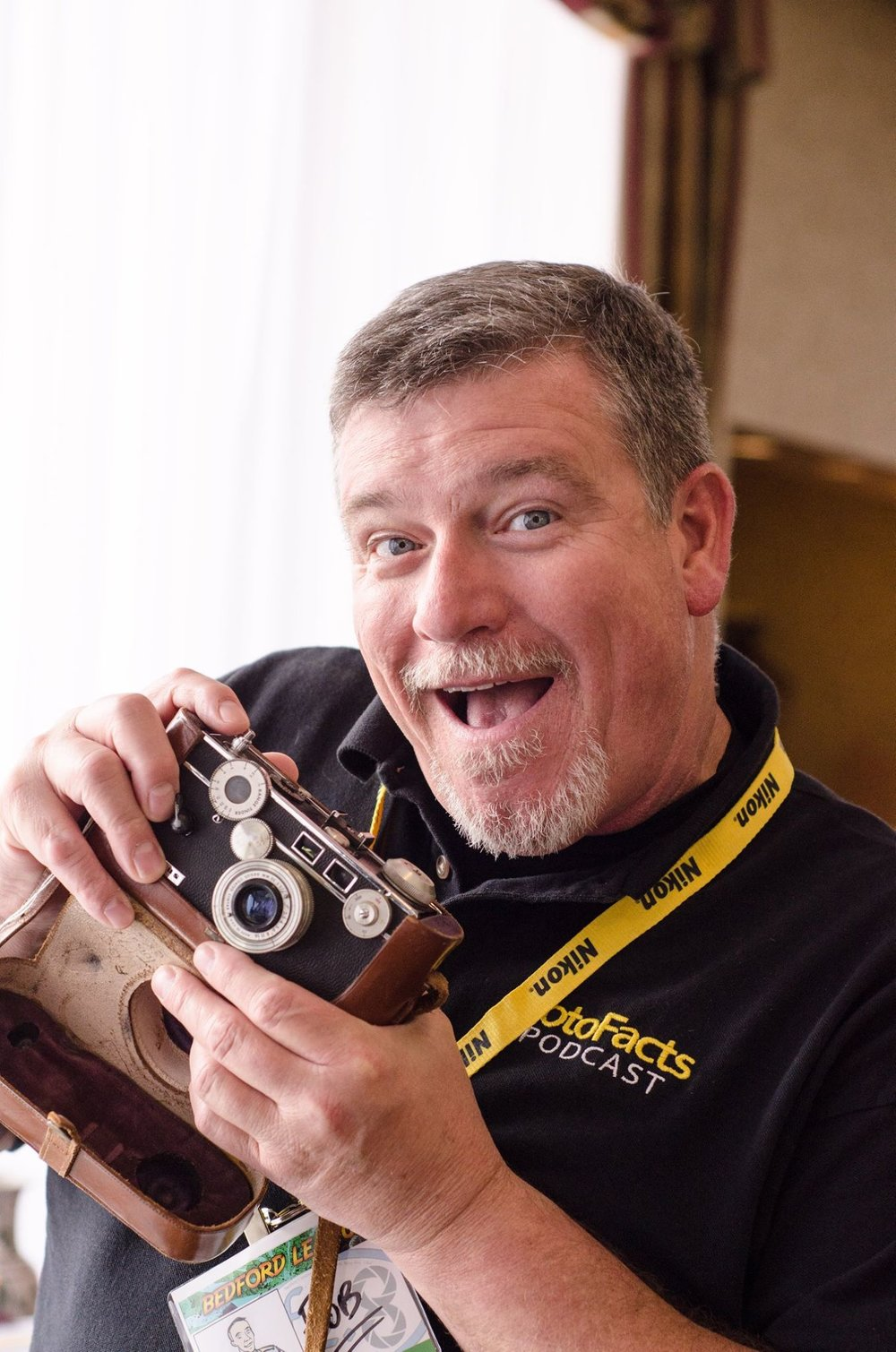 Have you seen this funny face around the SWPPA Convention before?