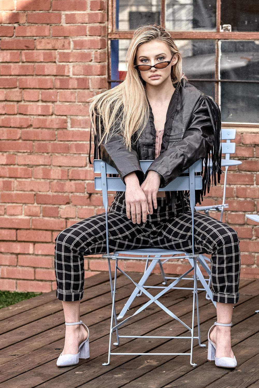 Jessica fashion for JNoel Boutique with Jamie Cobb