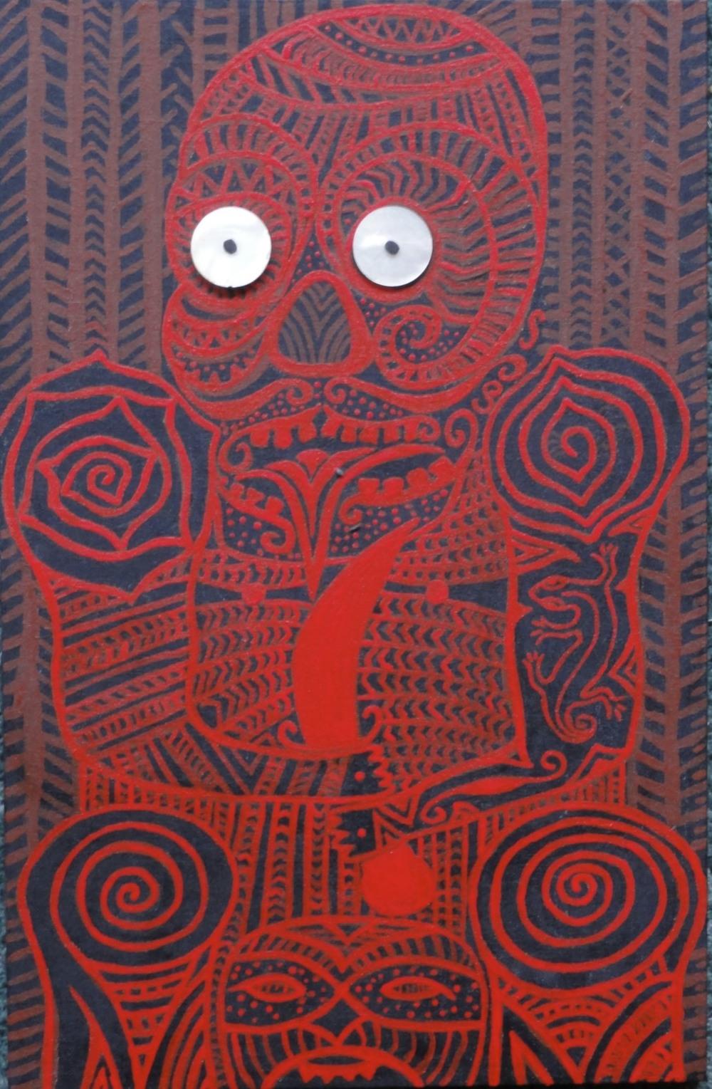 Maori Self Portrait