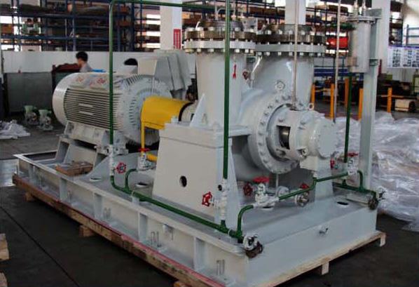 Heavy duty petrochemical process pump
