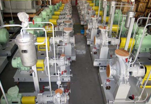 Petrochmical process pump for Ammoximation device