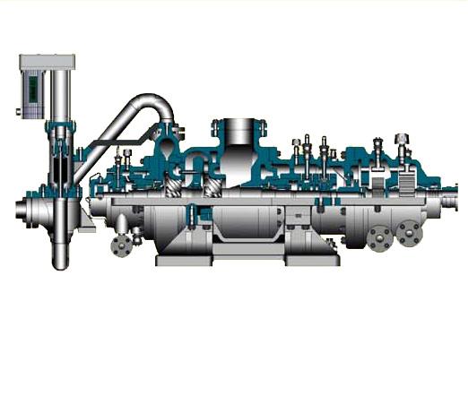 JYJ Radial flow condensing backpressure organic steam turbine