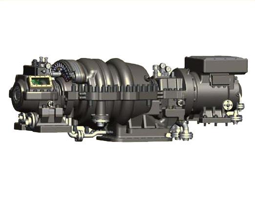JNP Radial flow condensing high speed steam turbine generator unit