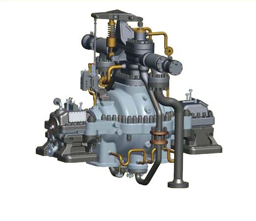 JWHB HHP Radial flow backpressure steam turbine