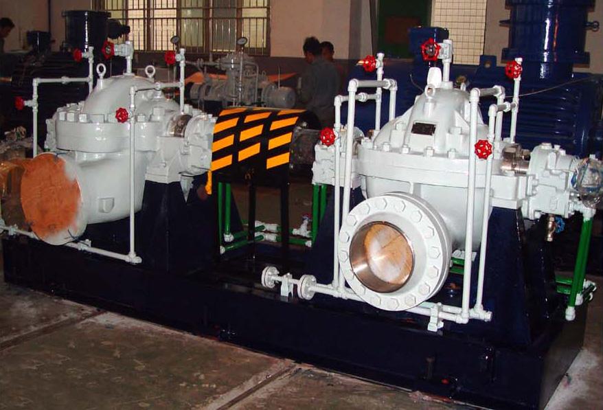 Semi lean pump driven by hydraulic turbine unit