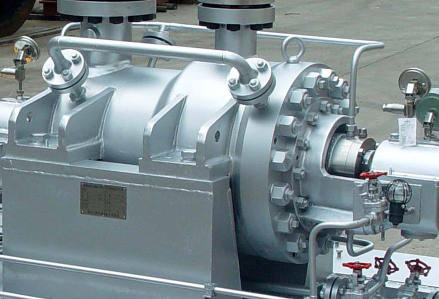 Multistage HP hydraulic turbine