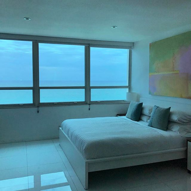 Wake up and live! Enjoy our little oasis with stunning ocean views and the sound of waves rocking you to sleep.  #miami #miamibeach #playa #beachlife #instagood #book #puremiamibeach #host #florida #art #endlesssummer #rentalapartments #peace #instagram #apartment #ocean #salty