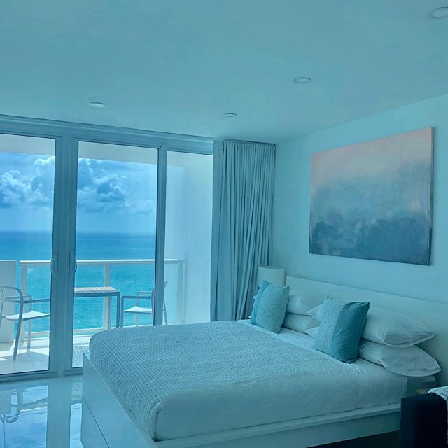 New apartment is now online!  Book your oasis now. Link in bio  #miamibeach #miami #florida #vacationrental #destination #beach #summer #playa #airbnb #art #nofilter #mood #instagood #original #abstract #balcony #ocean #view #oasis