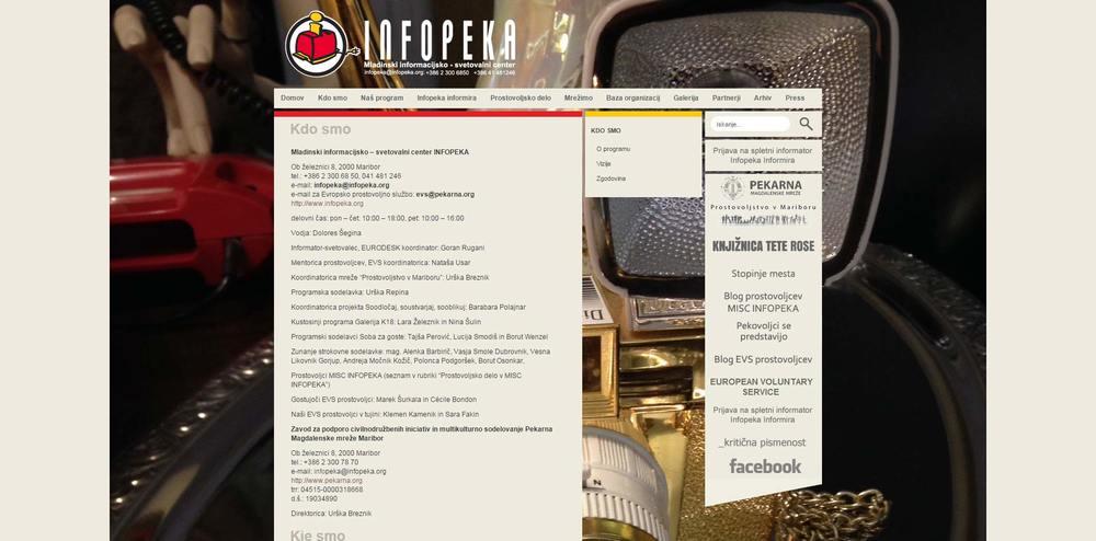 SPLET - INFOPEKA
