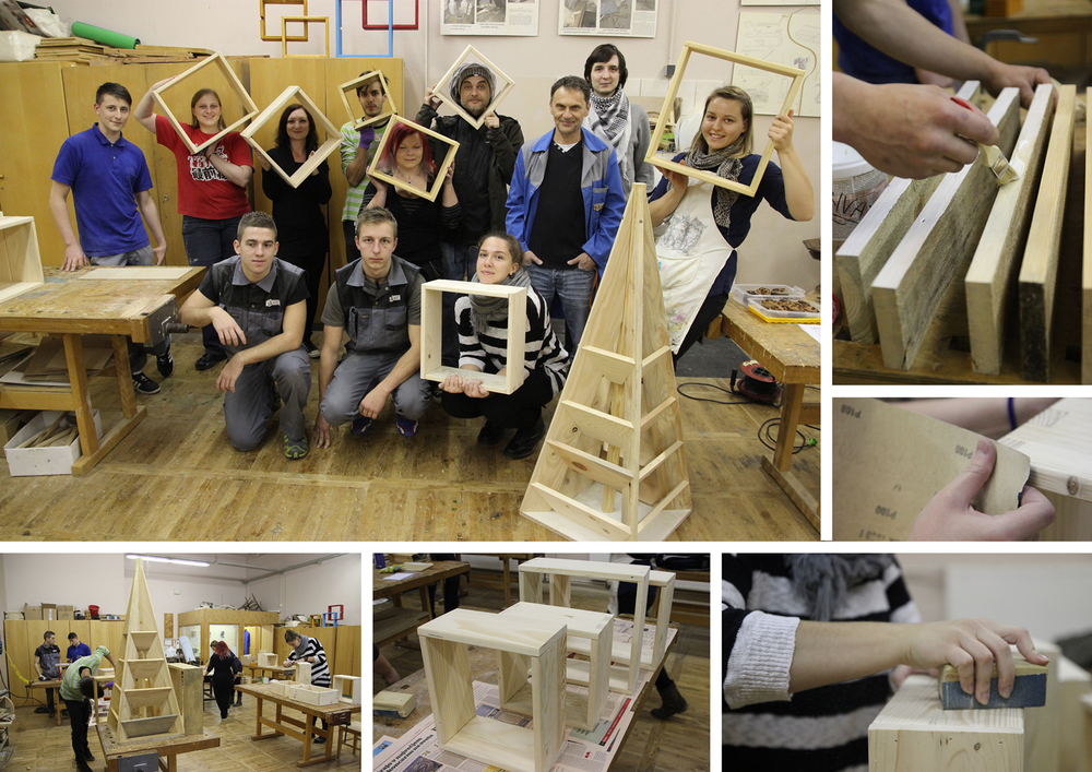 delavnica izdelovanja lesenih izdelkov
