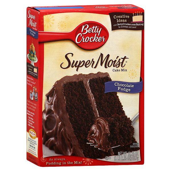 betty crocker chocolate fudge cake mix 15 oz meusu