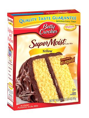 betty crocker yellow cake mix 15 oz meusu