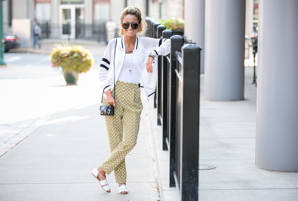 Printed Zara Pants