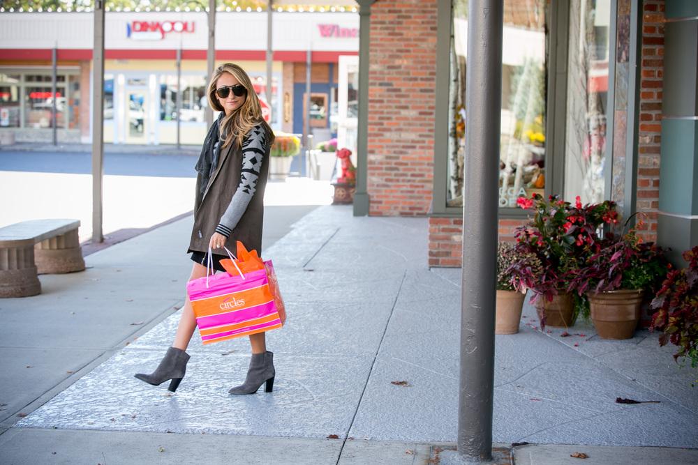 Jacket: Splendid |Skirt: Joie |Boots: Vince     Dino Petrocelli Photography
