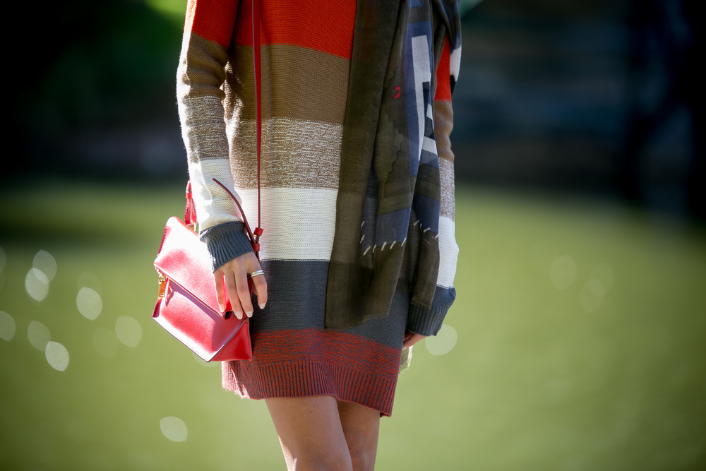Dress:BB Dakota| Booties:Vince|Bag:J.Crew (more colors available) Dino Petrocelli Photography