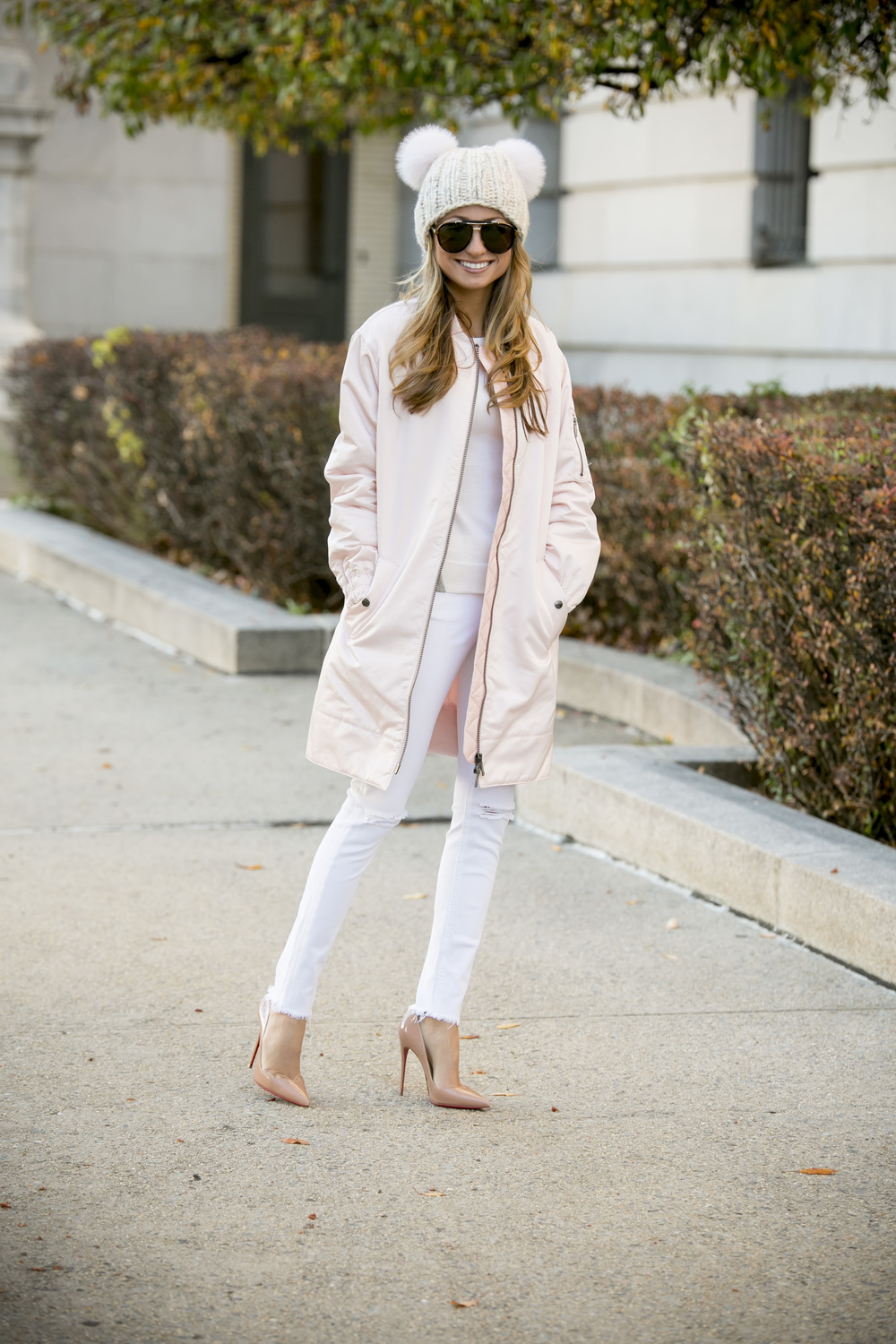 Banana Republic Jacket and Eugenia Kim Hat