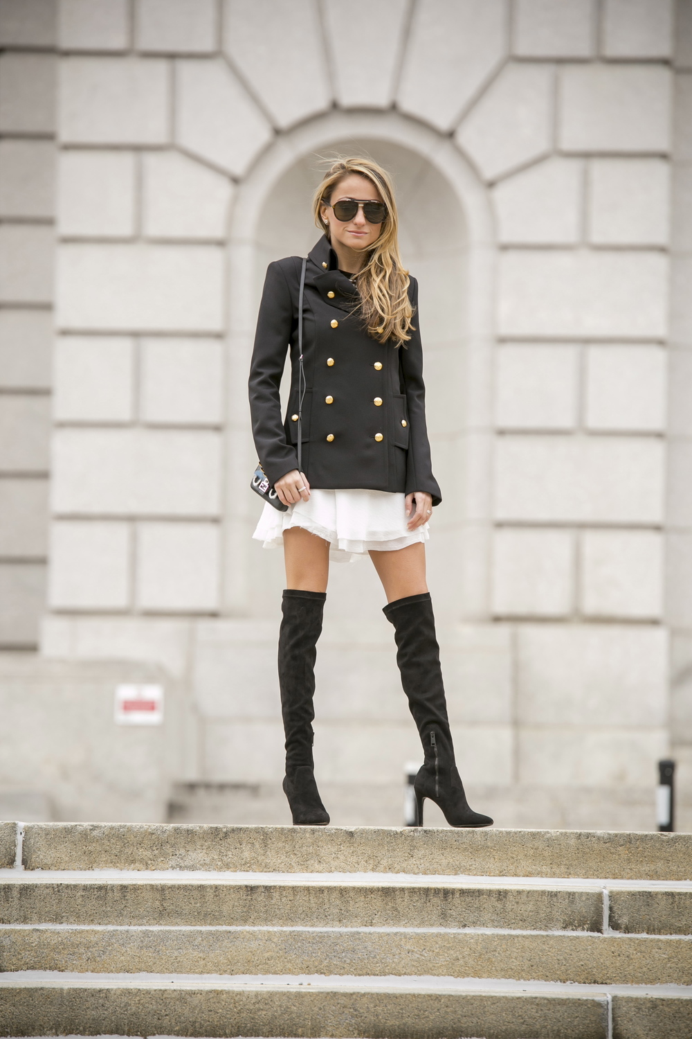 Intermix online military blazer