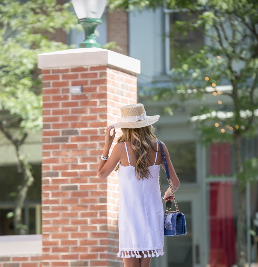 Dress: Club Monaco |Scarf: Club Monaco |Hat: Rag&Bone     Dino Petrocelli Photography