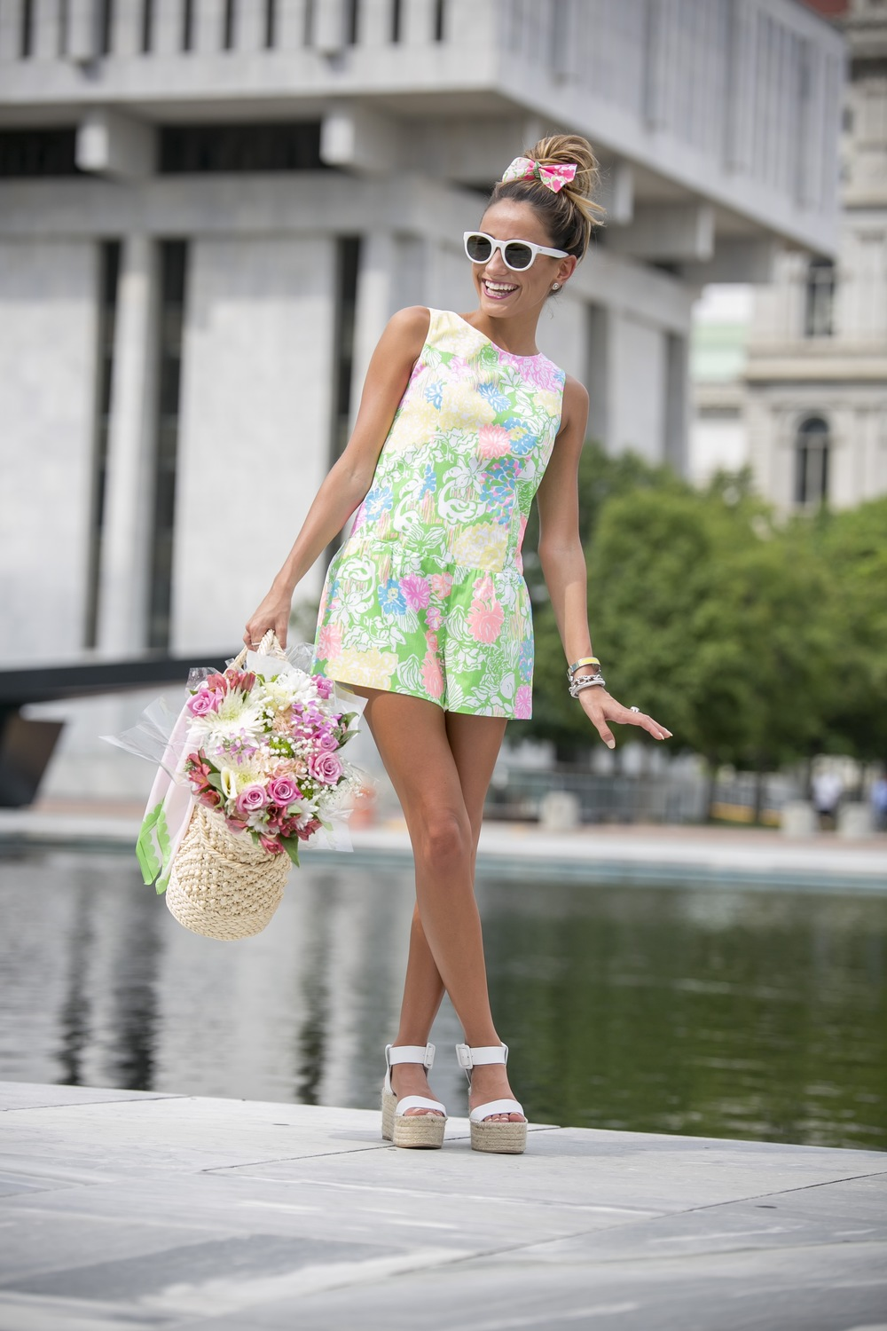 bright colors and patterns in Lilly Pulitzer