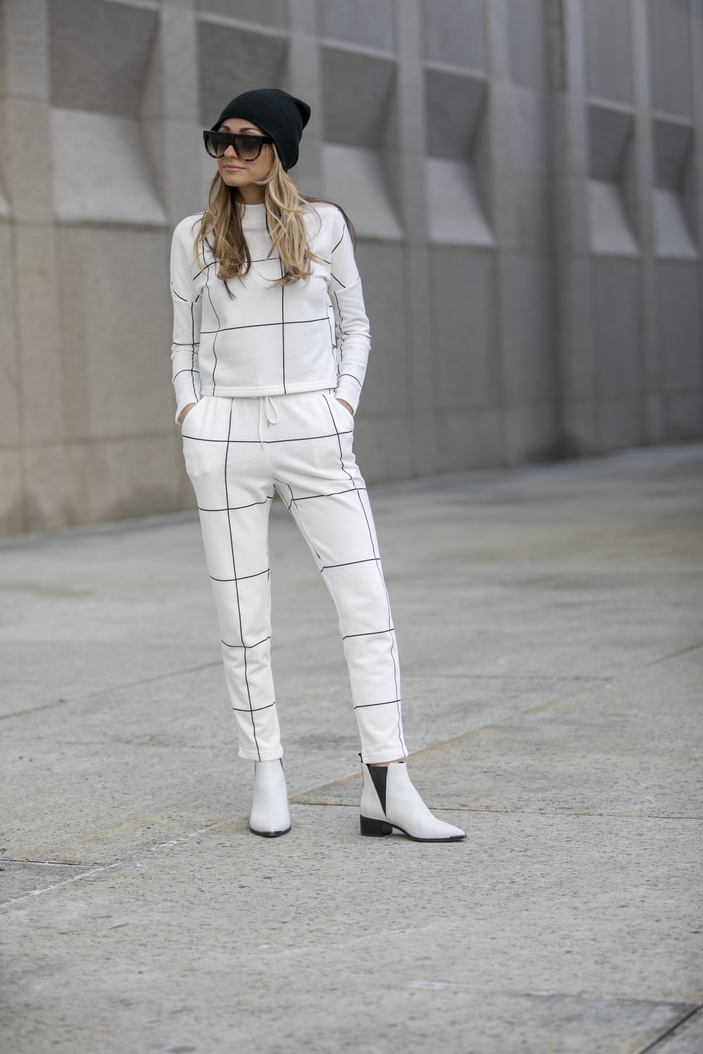 Top: Asos |Pants: Asos |Booties:Acne Studios(older,similar  here )    Dino Petrocelli Photography