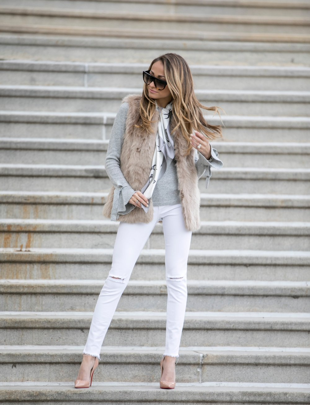 streetstyle  by Lauren Recchia in Banana Republic