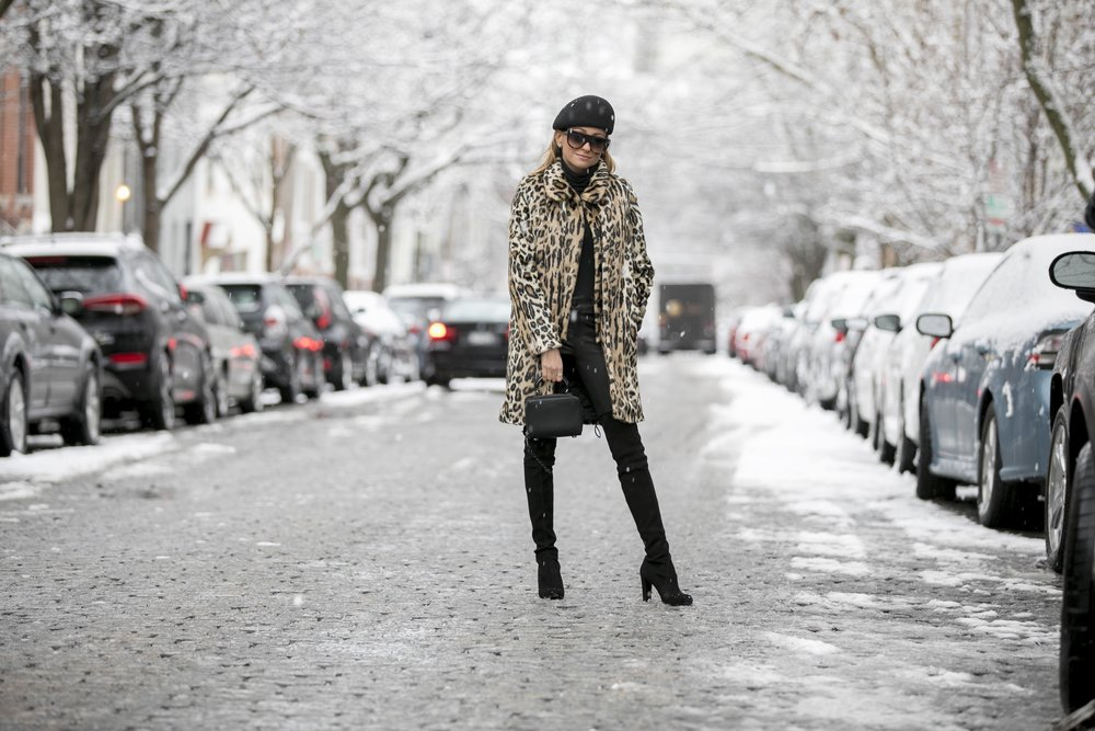 winter street style as seen on Lauren Recchia