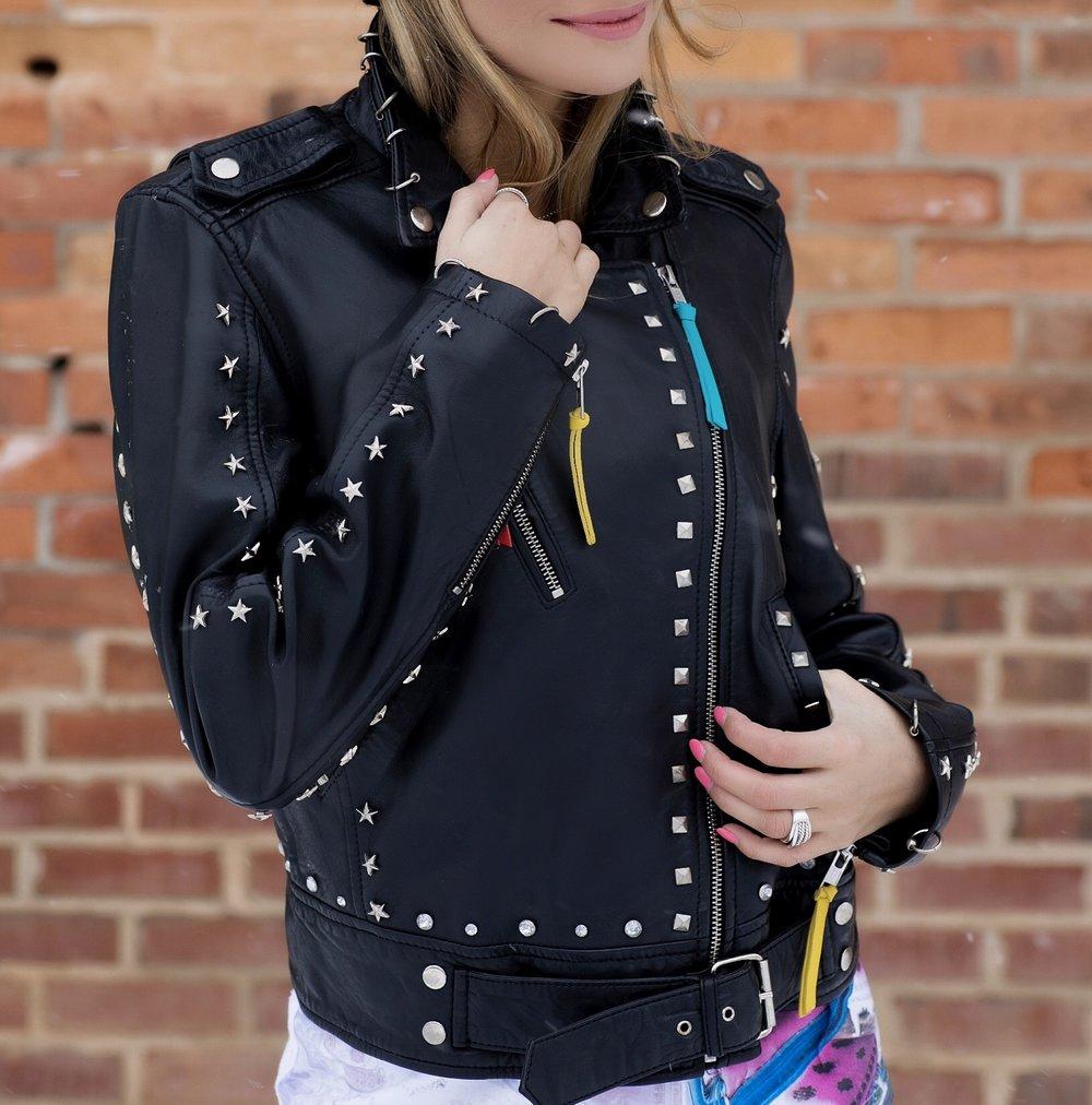 Nicole Miller worn by Lauren Recchia