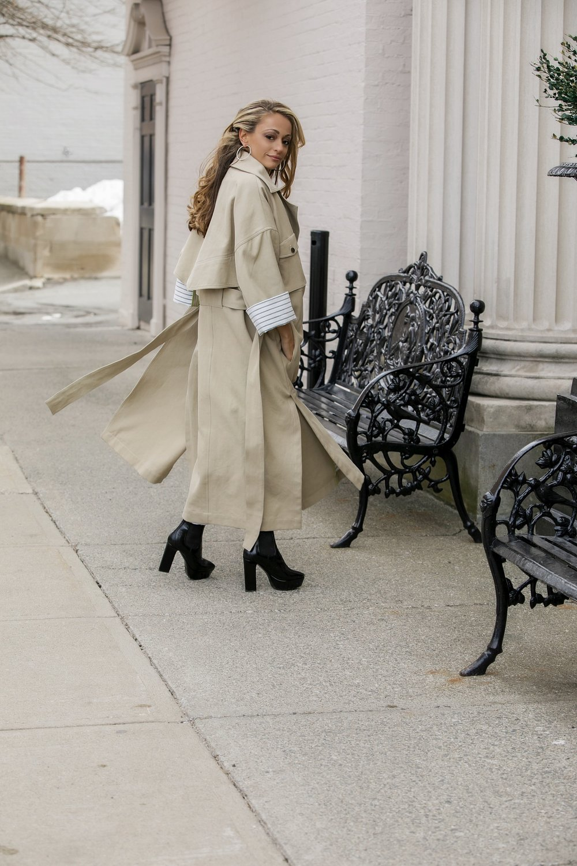 Nicole Miller trench coat