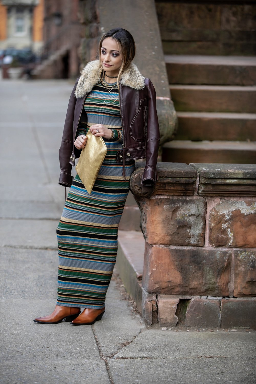 Lauren Recchia North of Manhattan in Ronny Kobo and Maison Margiela