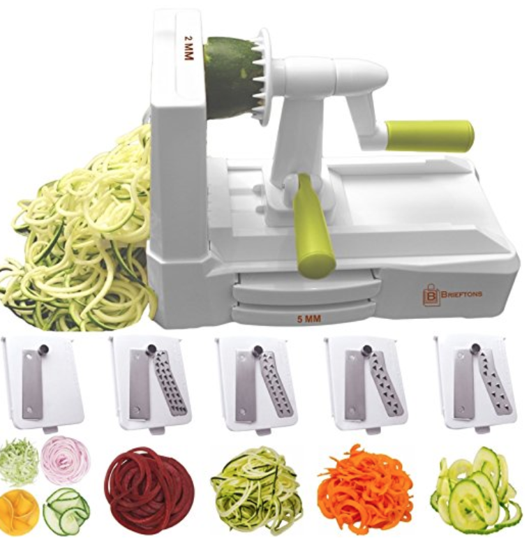 VEGETABLE SPIRULIZER - HEAVY DUTY - 5 BLADE SET