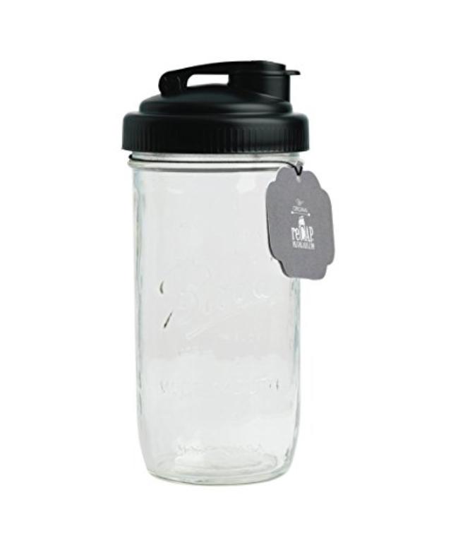 ReCAP MASON JAR POUR LID + JAR - BPA FREE2 PIECE SET