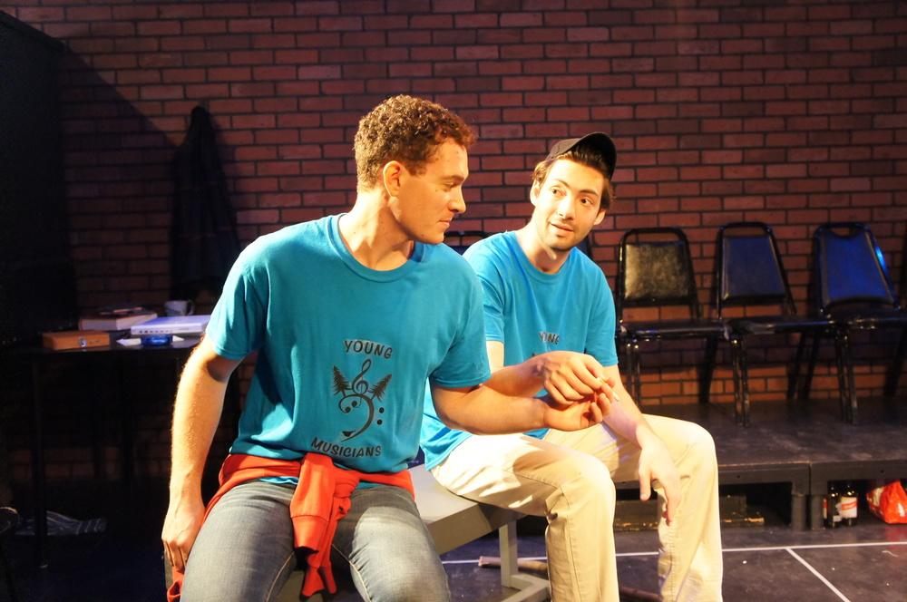 Amos Wolff (Benjamin) & Benjamin David Hoffman (David)