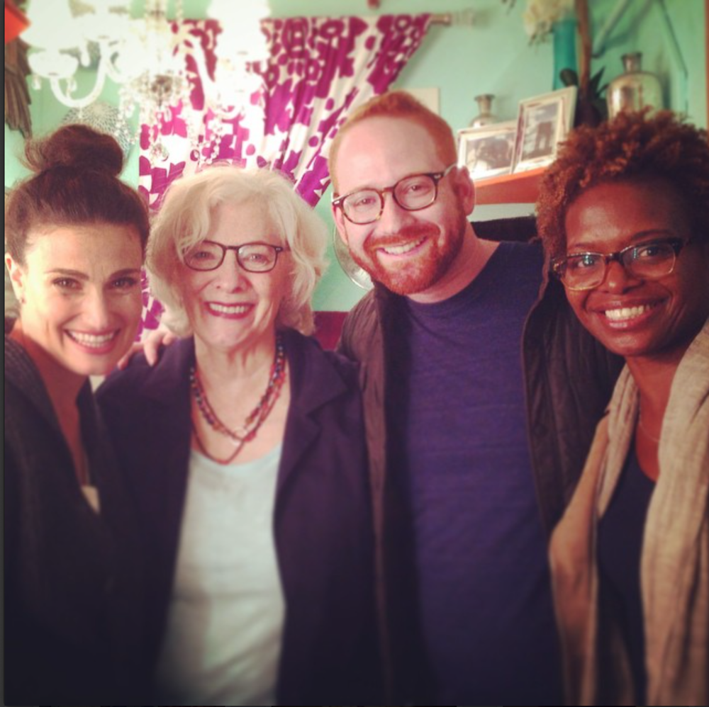 Idina Menzel, Betty Buckley, David Alpert, & LaChanze