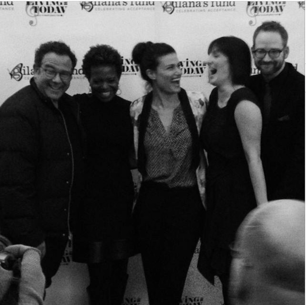 Michael Greif, LaChanze, Idina Menzel, Julia Murney, & David Alpert