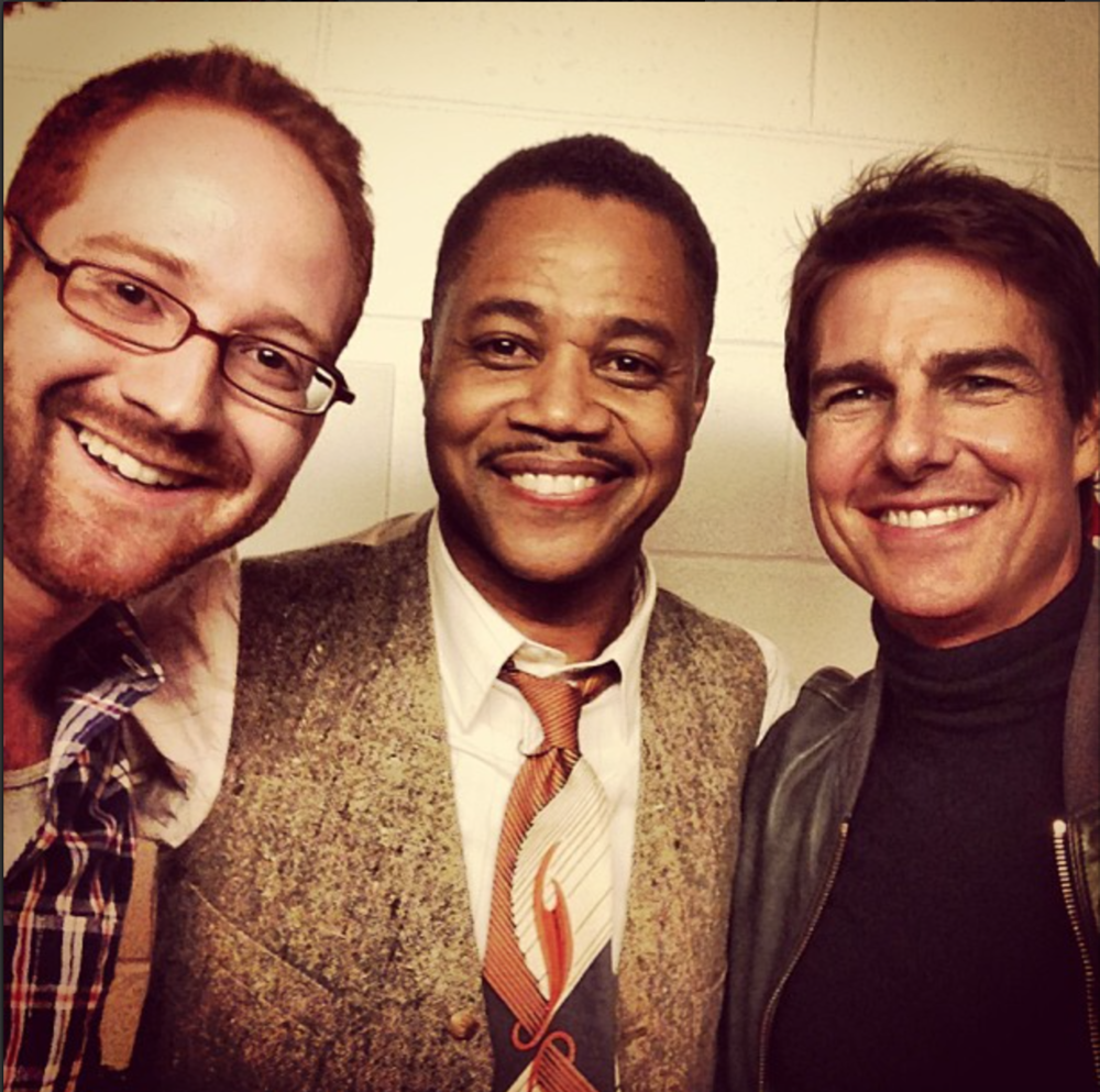 David Alpert, Cuba Gooding Jr., & Tom Cruise