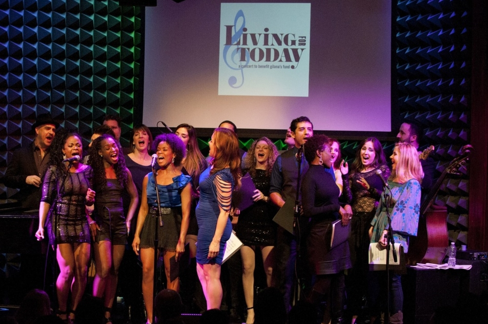 The company of the 6th Annual LIVING FOR TODAY. Photo by Aaron Lenhart.