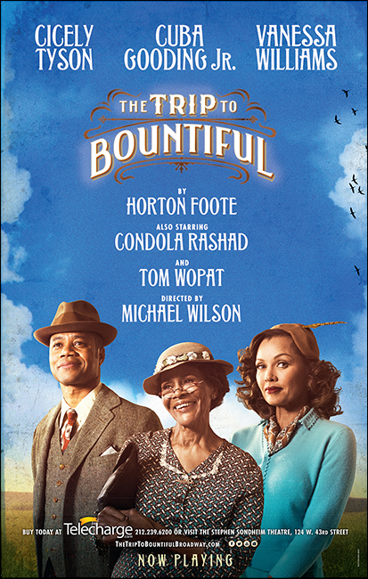 The Trip to Bountiful on Broadway.