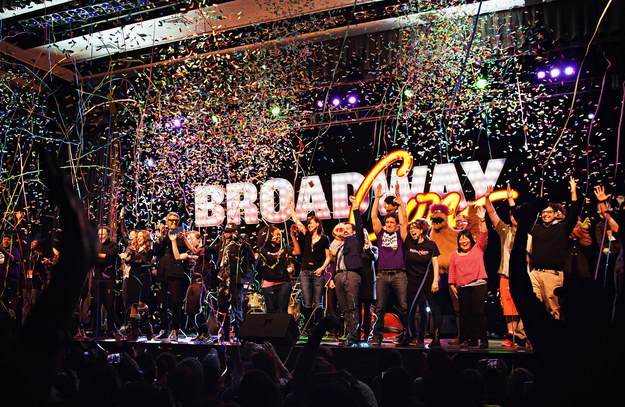 The finale of the opening musical at the inaugural BroadwayCon, written and directed by David Alpert.