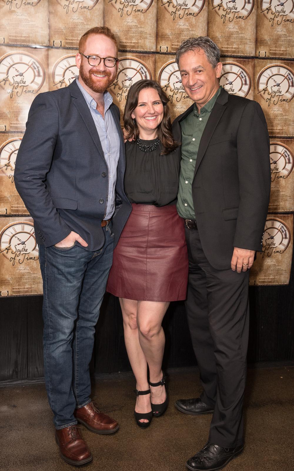 David Alpert, Nicole Swanson, Mark Swanson