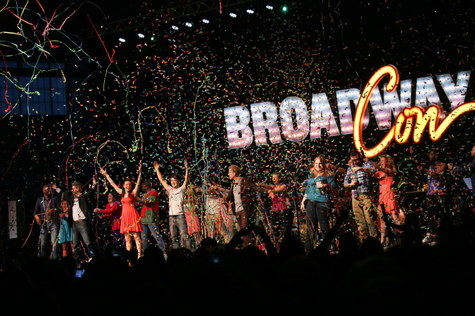 The opening of BroadwayCon 2017.